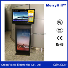 Vertical LED TV Stand 42 inch 46 inch 55 inch LCD Commercial Advertising Display Screen