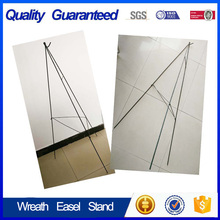 Popular decoration wire wreath easel stand from supplier
