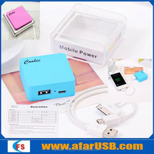 2015 Flystar Ultra slim squre power bank 1800mah 2200mah 2800mah For mobile phone