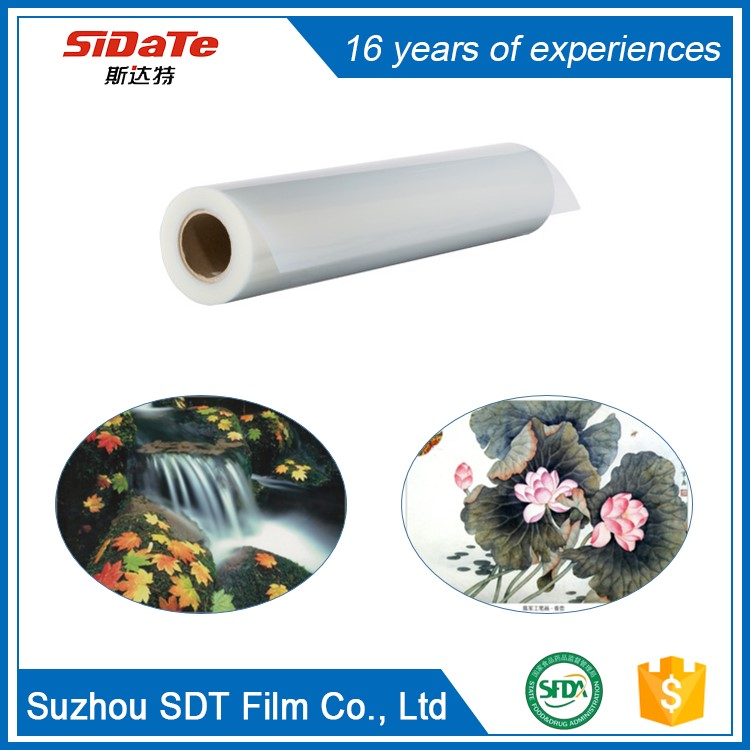 Customized Size printed strip Waterproof Printable double matted draft cad film for inkjet/laser printer