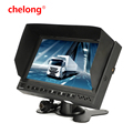 7 inch Vehicle Monitor TFT Display 2ch Video LCD Monitor Screen support rear view camera