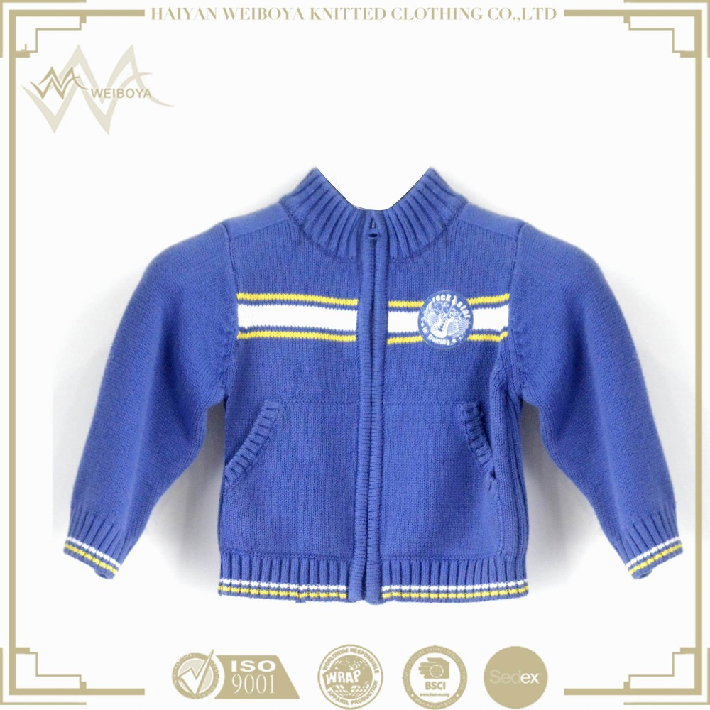 2017 Good Design baby clothes clothing sweater designs for kids chompas of children