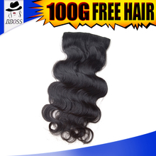 BBOSS 200 grams clip in hair extensions, cheap triple weft clip in hair extension, curly clip in hair extensions for short hair