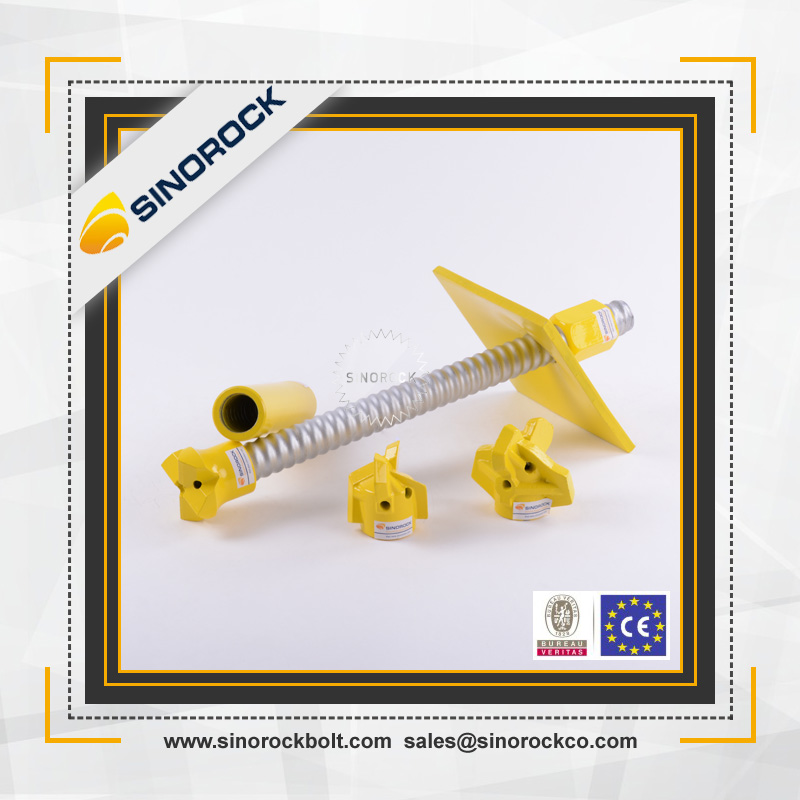SINOROCK Mining engineering tool steel material all size and different types of anchor bolts