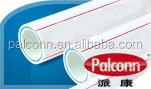 white color ppr fiberglass composite pipe (pn16)