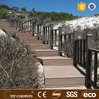 outdoor composite stair treads/laminate flooring tiles