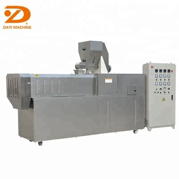 Dayi high quality corn puff snack extruder process line