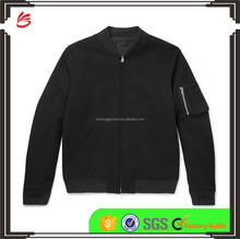 2017 new design winter custom jacket coat men's Cotton-Drill Bomber Jacket wholesale