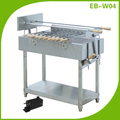EB-W04 Baonan factory high quality industrial commercial rotary charcoal bbq oven