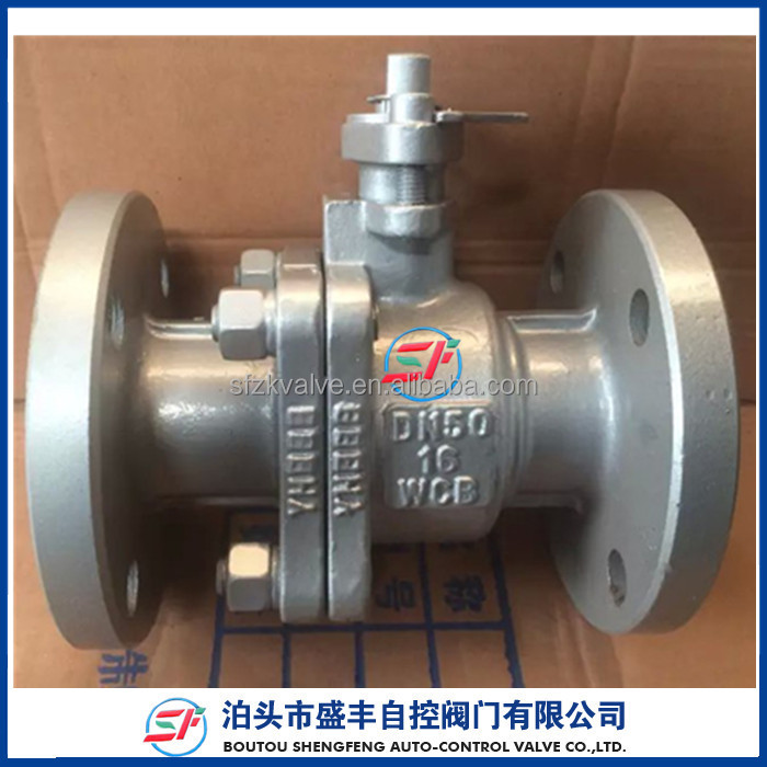 shengfeng brand GB BS paint carbon steel WCB PN16 Q41F ball valve