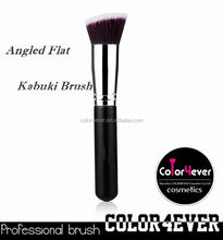 2015 fashion Individual kabuki makeup brush set with many different colors