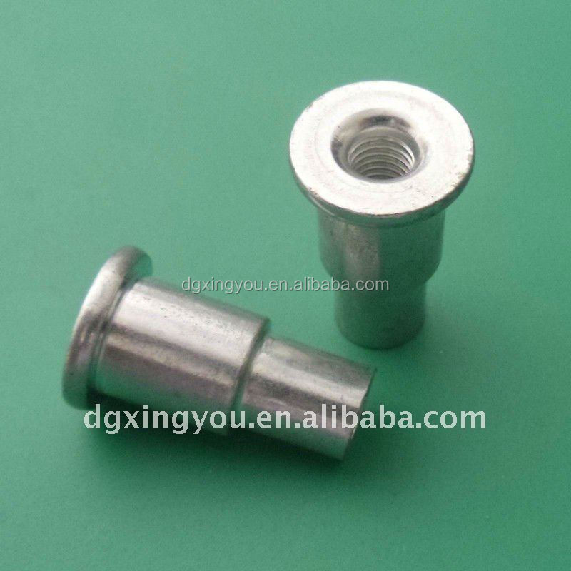 Aluminum Knurled Hexagon Wheel Lock Nuts