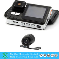 2.5 inch Front/Rear dual lens HD car dvr camera driving recorder,remote control car with camera XY-9615DVR