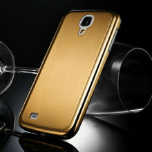 new arrival high quality factory original luxury brushed thin aluminum case for samsung galaxy s4