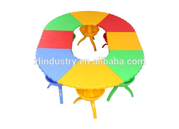 50cm height plastic preschool kids furniture wholesale