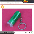 Alibaba Best Sellers Made In china Flashlight Green Plastic LED Flashlight Torch