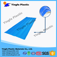 roofing building material/plastic pvc roof tile/low price upvc roofing sheets