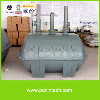 PUXIN durable home use mini size frp septic tank