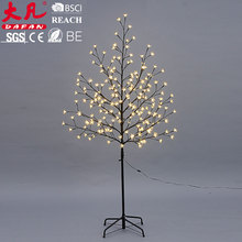 Landscape led lights tree outdoor christmas train decoration