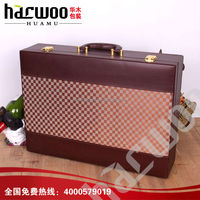 Sale well leather wine boxes customized