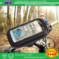 IP5-FS water resistant zipper mobile phone case bike waterproof bag for Mobile phone stand