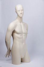 half mannequin with head and shoulders on sale