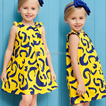 Hot sales for embroidered sequin sleeveless girls' dress, flared hem children dress OEM service