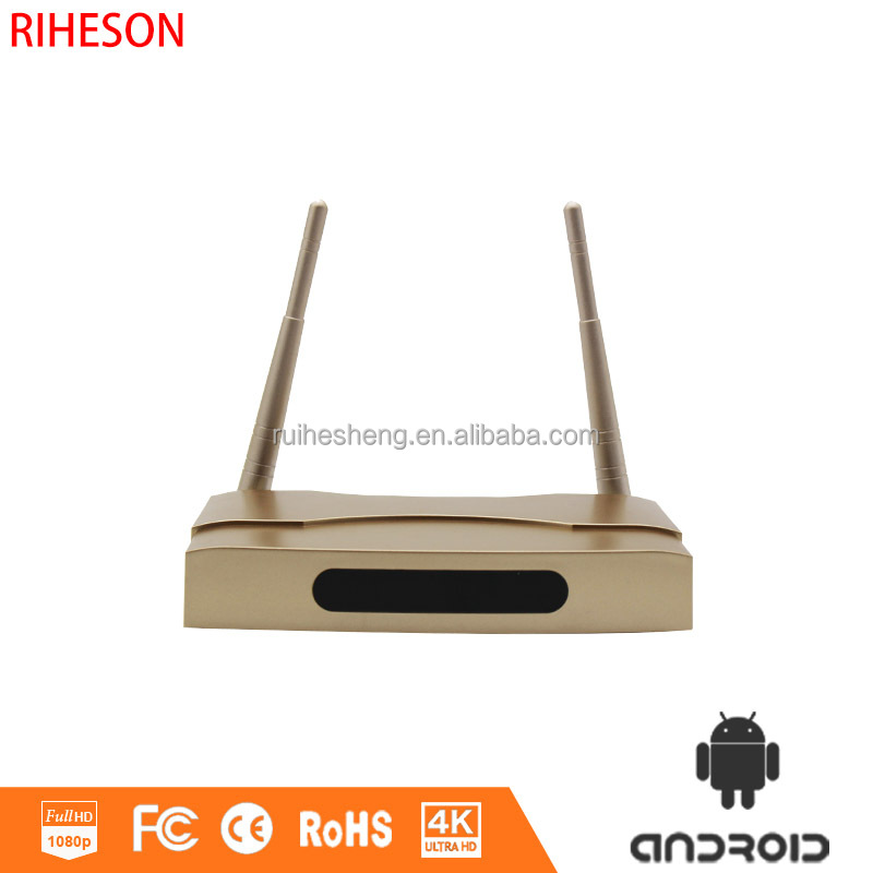 Android smart digital tv box hign-profile chip Amlogic S905 quad core 1+8G preinstalled firmware