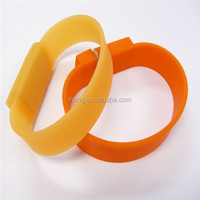 Factory price 4gb 8gb 16gb 32gb 64gb 128gb promotional gift wristband USB flash drive wholesales