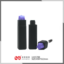 square plastic empty eyelash glue or mascara tube Bottle Cosmetic Makeup Packaging container