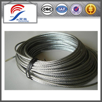 1x19 wire rope for bicycle stake