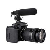 Shotgun DV Stereo Microphone for Canon Eos 550D 600D Rebel T3i T2i Camera