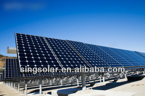 Turkey Solar Panel Price List 45W Poly Solar PV Modules / Solar Cells