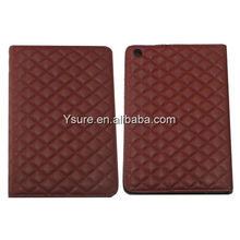 Table Leather Stand Case for ipadmini multicolors