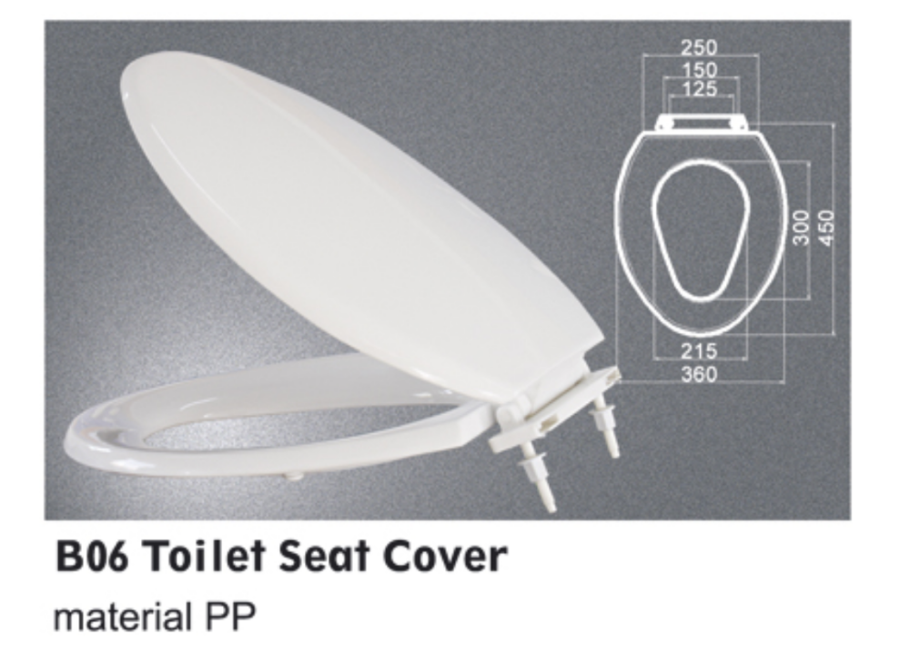 High quality PP material toilet seat cover
