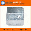 2014HOT 4x4 Square electricall galvanized iron switch