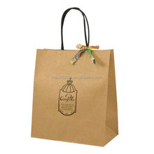 2016 factory cheap gift paper bags wedding door gift paper bag