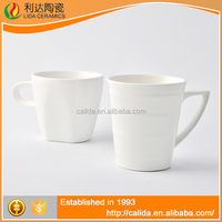 Eco-Friendly good quality white porcelain LM694 mug ceramic with high quality
