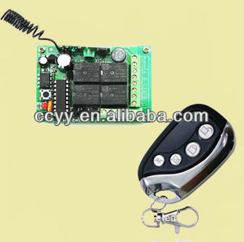 Wireless Rf Transmitter & Receiver Remote Control Switch 12V DC