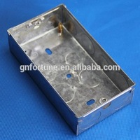 factory price China rigid conduit steel casing ground box