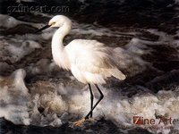 Import Cheap Goods From China Lifelike Crane Animal Painting