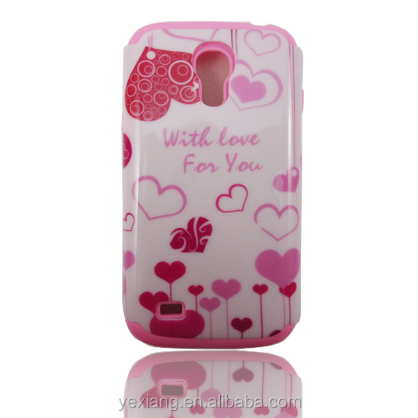 Design Combo Shockproof Case For Samsung Galaxy S4 Mini Case