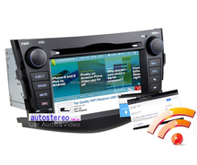 Android Car Radio with GPS Navigation for Toyota RAV4 Car DVD Player