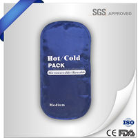 Customized medica treatmentl hot/cold gel ice pack
