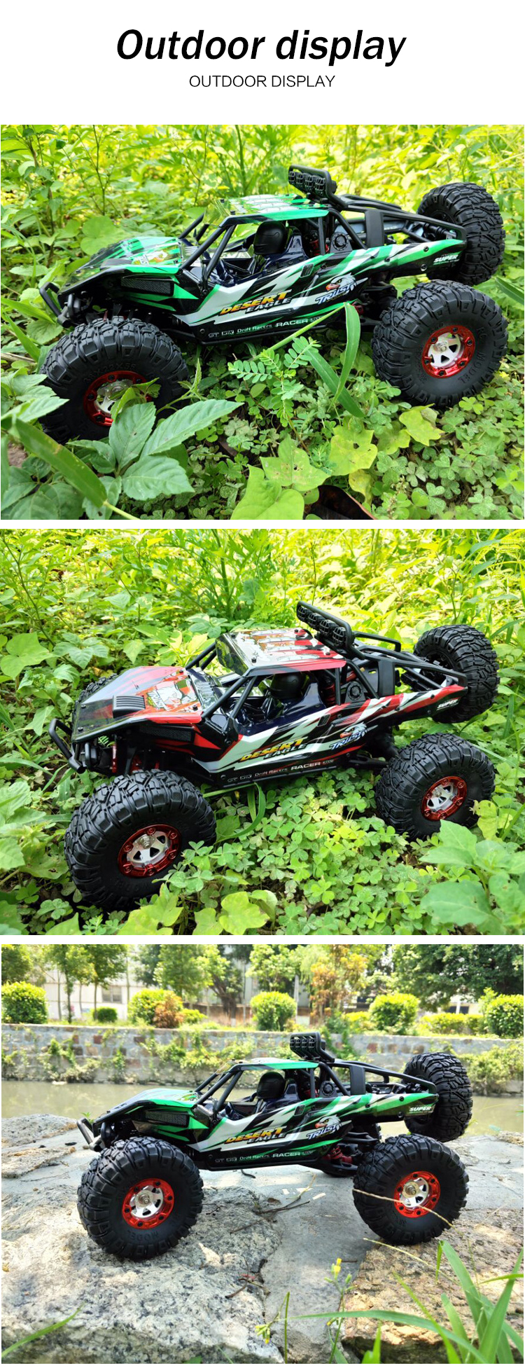 TongLi toy professional radio control high speed off-road durable simulation 4X4  1/12 jeep 2.4G rock wall climbing 4WD rc car