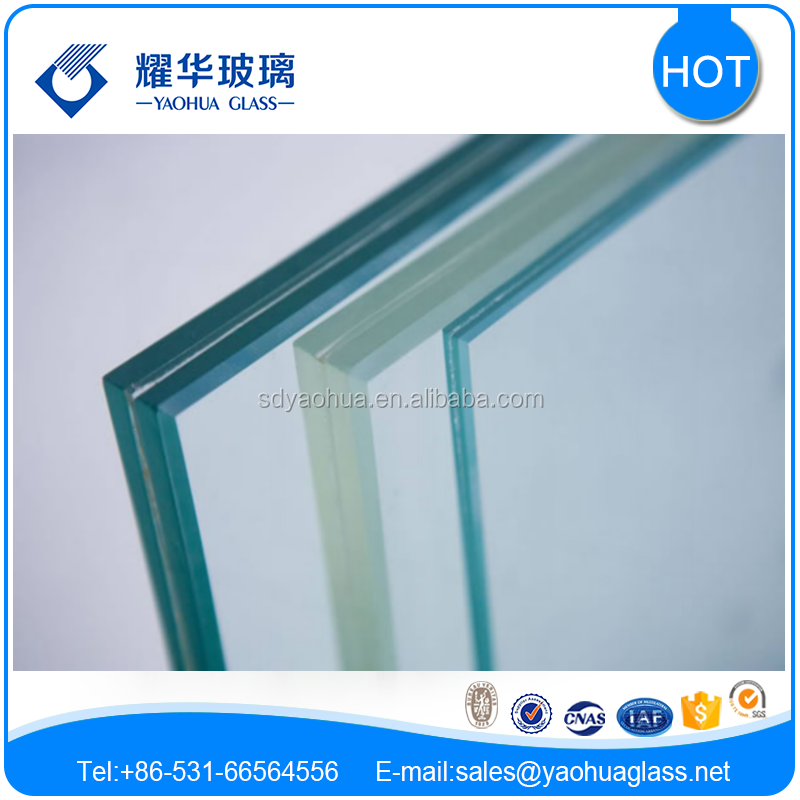 high quality hot sale AS/NZS 2208 certified laminated glass