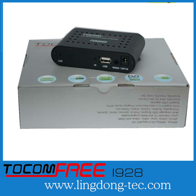 New receiver tocomfree i928 work stable than azamerica s922 for South America