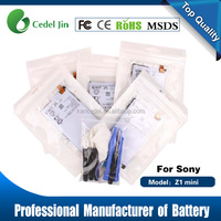 2300mah 3.8v smart phone battery for Sony Xperia Z1 Mini /D5503/Z1 Compact LIS1529ERPC