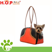 Sling dog carrier tote bag, puppy backpack, rattan pet house