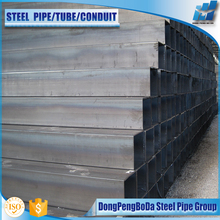 Carbon Steel Welded Black Square Pipe/tube& Rectangular Pipe